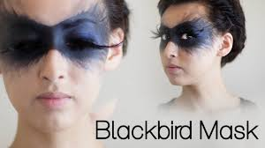 halloween makeup masks blackbird mask halloween 2013 youtube