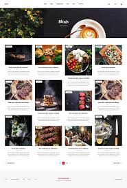 ivy multipurpose restaurant u0026 cafe psd template by deercreative