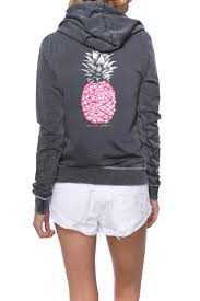 spiritual gangster pineapple pullover hoodie from rhode island by
