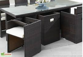 awesome table de jardin resine plastique pictures awesome