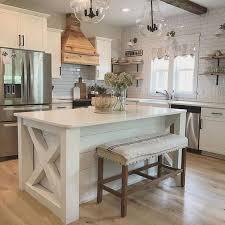 farmhouse kitchen furniture 20 farmhouse kitchen ideas for fixer style industrial flare