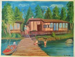 luck home and cottage paintings