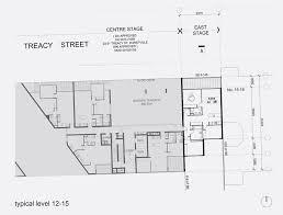 Sony Centre Floor Plan Treacy Street East Stanisic Architects