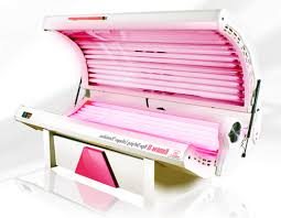red light therapy lamps for tanning beds