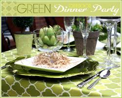 green outdoor dinner party stuffed artichoke recipe pizzazzerie