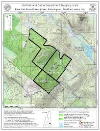 Smith Mountain Lake Fishing Map Trapping On State Managed Lands Hunting New Hampshire Fish And