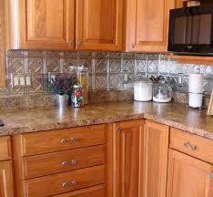 metal backsplash for kitchen in with stunning motifs