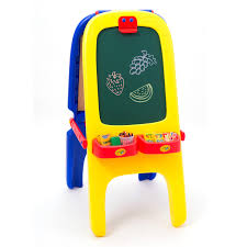 crayola magnetic double sided easel toys