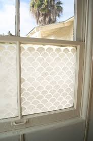 Window Treatments For Small Bathroom Windows Final Close Up Frosted Window Coastal Style Pinterest Window