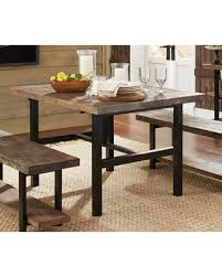 Reclaimed Wood Dining Room Furniture Holiday Shopping Special Bolton Furniture Pomona Metal And