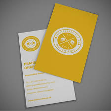 30 creative yellow business cards