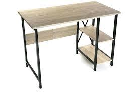 bureau bois et metal bureau metal et bois womel co