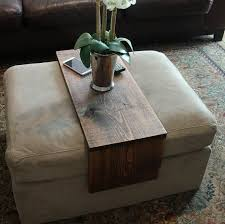 handmade ottoman sofa cushion wrap tray table the perfect