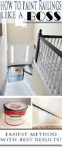 How To Paint Furniture Black by How To Paint Stair Railings Painted Stair Railings Paint Stairs