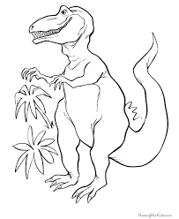 free printable dinosaur coloring picture dino pinterest free