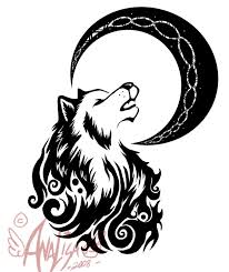 tribal wolf tattoo tribal wolf test 2 by nayrulocksley tattoos