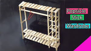popsicle stick crafts diy miniature furniture easy dolls