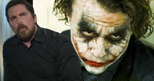 Heath Ledger Joker Halloween Costume Watch Christian Bale Talks Batman U0026 Heath Ledger U0027s Joker Cosmic