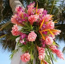 Tropical Theme Wedding - beach wedding ideas
