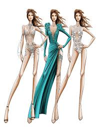 jennifer lopez u0027s vegas residency costume sketches from zuhair