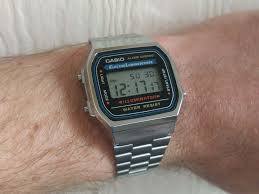 casio a168 casio a168 my reliable digital a bit of the 80s with a