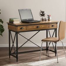 Industrial Computer Desks Harper Blvd Maude Industrial Wood Desk Free Shipping Today