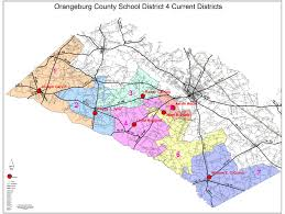 orangeburg county south carolina school district provisions