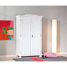 Schlafzimmerschrank Romantisch Kleiderschrank Weiß Landhausstil 2 Türig Tentfox Com