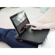 Laptop Knee Desk by Accessorygeeks Com Kikkerland Black Comfortable Ibed Portable