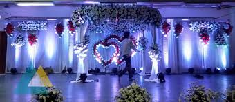 wedding stage decoration in neyveli u2013 block 24 community hall