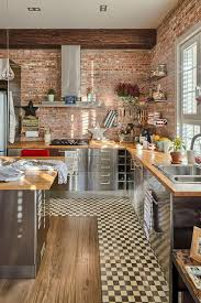Faux Brick Interior Wall Covering Kitchen Ideas Brick Tiles Kitchen Red Brick Backsplash Brick