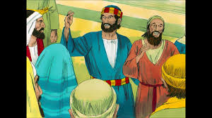 peter and john heal a lame man bible story explained for young