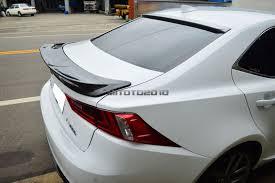 lexus is350 trd accessories carbon fiber for lexus is250 is350 is f trd type rear trunk lip