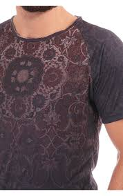 Brown Paisley Rug Pearly King Reach Tshirt With Paisley Rug Print Blueberries