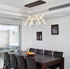table pendant lighting brown laminated santos mahogany dining