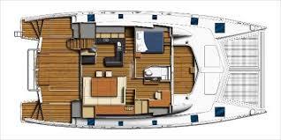 Catamaran Floor Plans 2017 Leopard 58 Boats Com