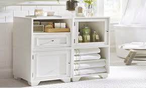 towel cabinets for bathrooms pottery barn bathroom storage