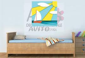 tableau d馗oration chambre tableau décoration chambre enfant bateau à vendre à dans meubles