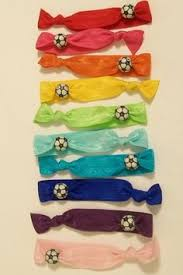 ribbon for hair that says gymnastics purple gold elastic hair ties it s says go huskies but it