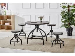 M S Dining Tables Homelegance Dining Room 1 2 Dining Table Top And Base Hm2319t D