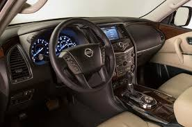 nissan nv2500 interior 2017 nissan armada first look review motor trend