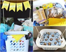 cool baby shower gifts baby shower gift idea easy baby laundry basket gift