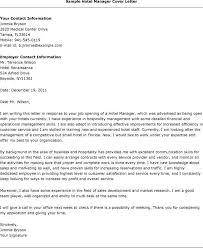 best ideas of cover letter sample for job application in hotel