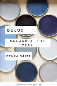dulux colour of the year denim drift colour grey and blue colors