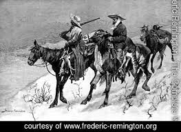 frederic remington the complete works thanksgiving dinner for
