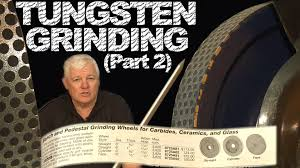 Sharpening Wheel For Bench Grinder Grinding Tungsten Part 2 Tig Time Youtube