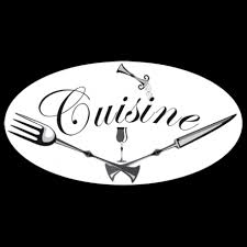 enseigne de cuisine sticker enseigne de cuisine d antan style rétro avec texte décorécébo