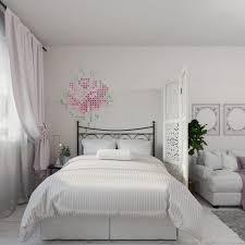 white romantic dream apartment for three girls home interior