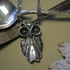 Silver Spoon Jewelry Making - spoon necklace butterfly by silver spoon jewelry by silverspoonj