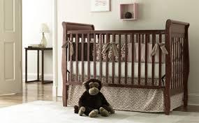 baby cribs in dark wood free shipping